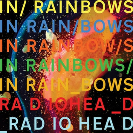 The artwork for In Rainbows.