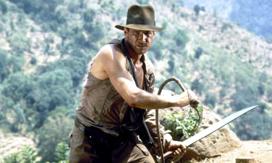 No need to go to all that effort … Indiana Jones and the Temple of Doom.