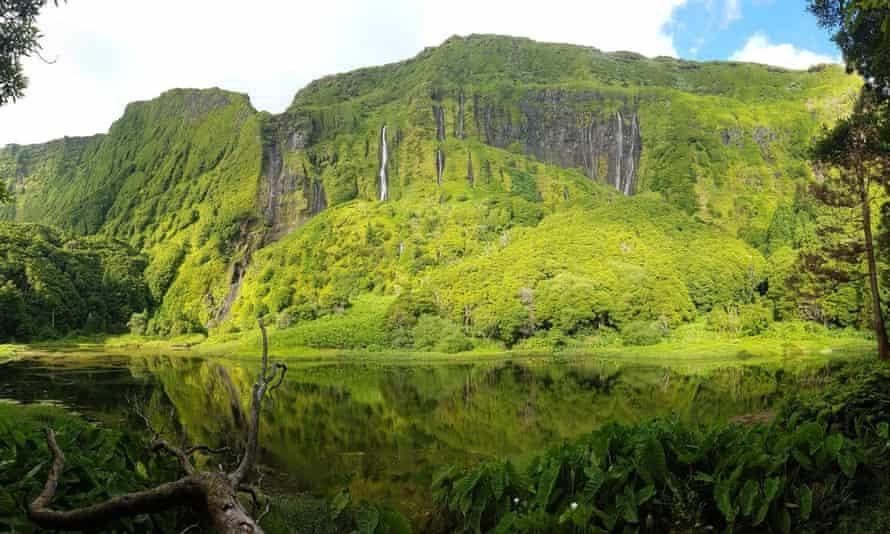 Poço Ribeira do Ferreiro, Flores island.