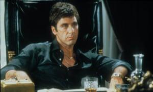 Al Pacino as Tonay Montana in Scarface