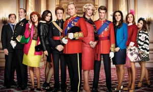 Fundamentally affectionate … The Windsors.