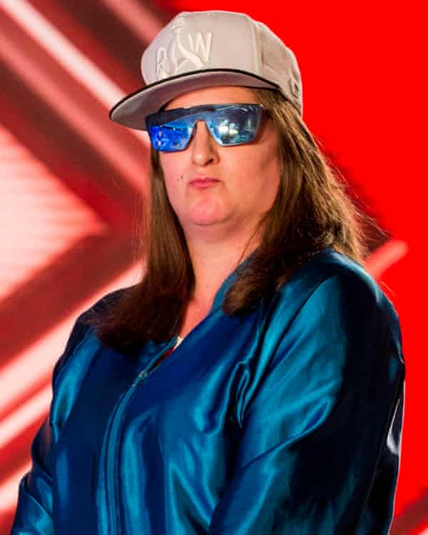 Honey G on X Factor.