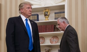 Donald Trump says Rex Tillerson was 'was dumb as a rock and I couldn't get rid of him fast enough'.
