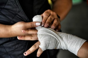 Fighting For Their Futures Boxing Under A Bridge In Mexico