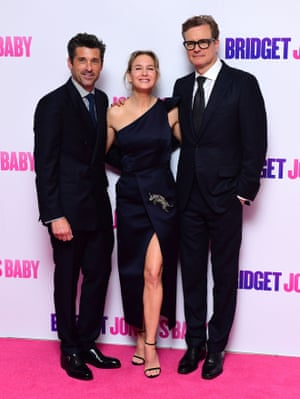 Patrick Dempsey, Renée Zellweger and Colin Firth