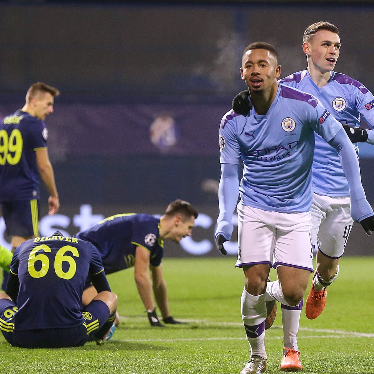 Dinamo Zagreb 1 4 Manchester City Champions League As It Happened Football The Guardian