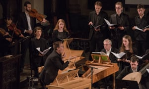 David Bates conducts with La Nuova Musica at House of Monteverdi.