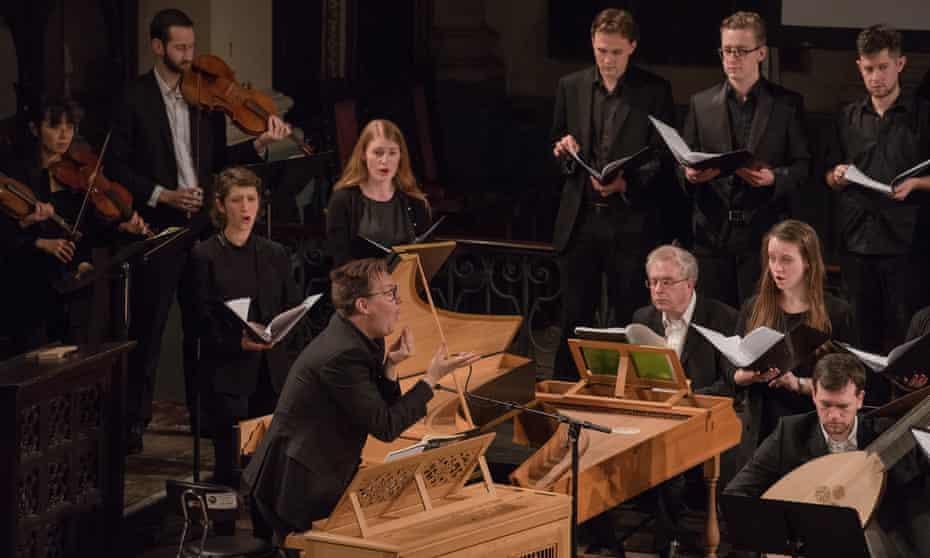 David Bates conducts with La Nuova Musica at House of Monteverdi.