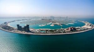 Dubai: The Atlantis The Palm, a man made luxury hotel resort