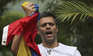 Leopoldo Lopez: According to one US diplomat. 'He is often described as arrogant, vindictive, and power-hungry – but party officials also concede his enduring popularity, charisma, and talent as an organiser.'