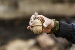 A grenade