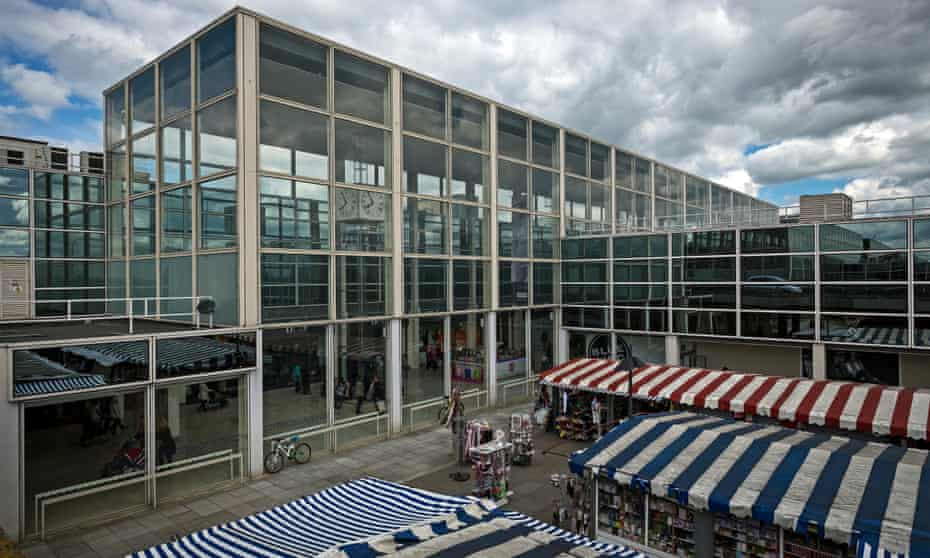 Milton Keynes shopping centre was listed in 2010.