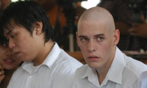 Si Yi Chen (left) and Matthew James Norman.