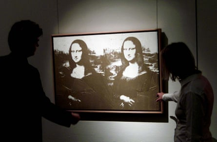 Andy Warhol's Mona Lisa