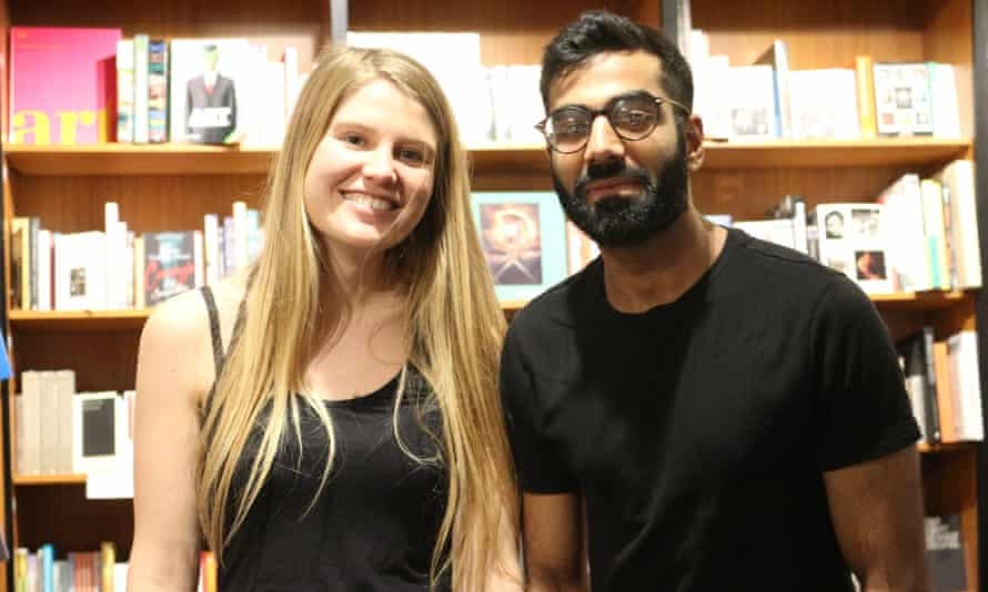 Rose de la Font, 26 and Aagash Vadera, 28, moved in together during lockdown.