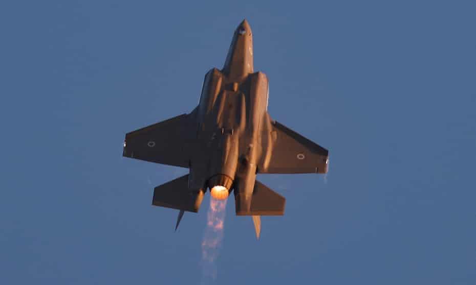 An Israeli fighter jet