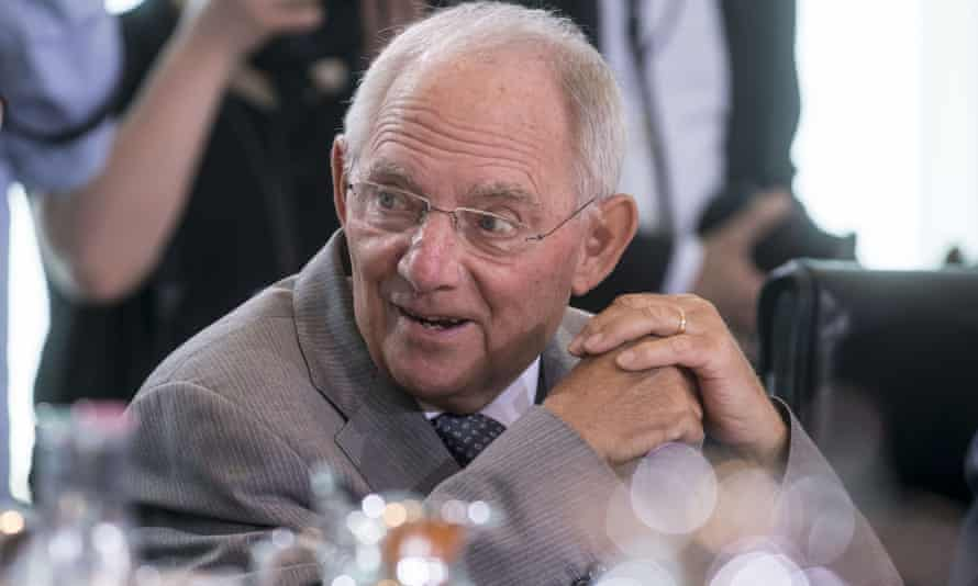 Germany's finance minister, Wolfgang Schäuble, who has ruled out the Norway option for Britain