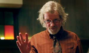 Michael Parks as a menacing preacher in the film Red State, 2011