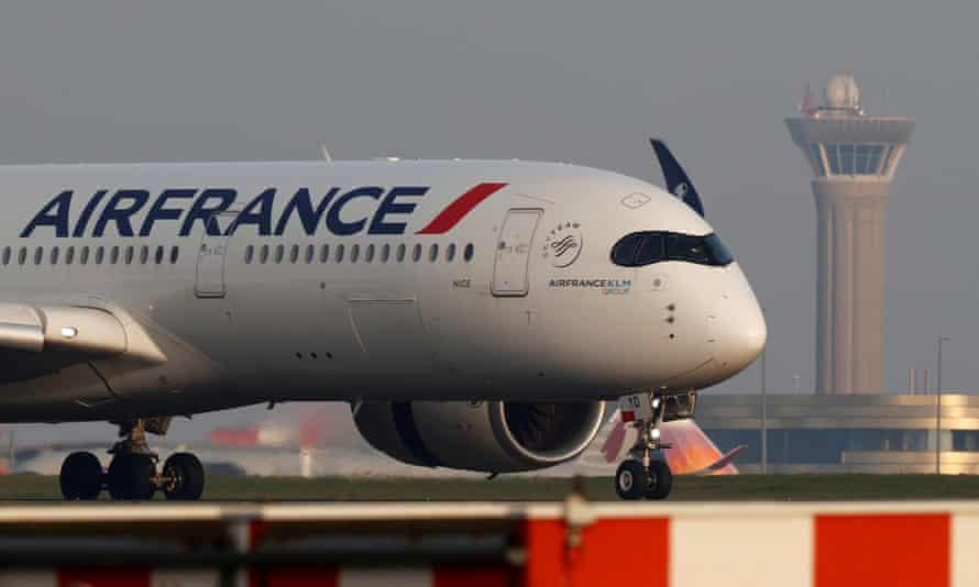 Air France plane.