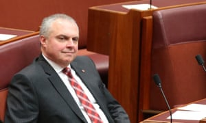 Stirling Griff in the Senate.