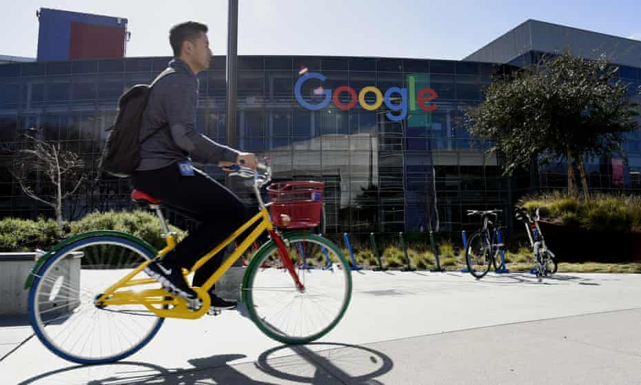 The Google campus in Mountain View, California. The company is facing a backlash over a leaked anti-diversity document written by an employee.