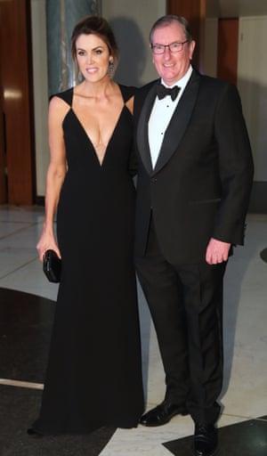 Peta Credlin and Brian Loughnane