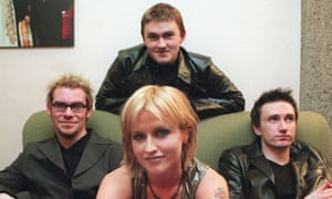 Family, valued … the Cranberries in 1999.