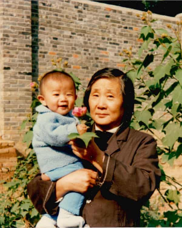 Angela's grandmother and cousin, Qian Shao, in Hefei in about 1987.