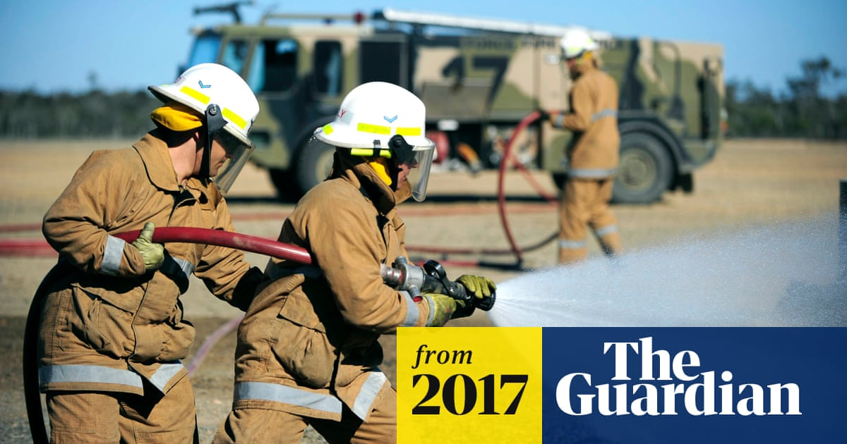 Australian defence force warned about toxic firefighting