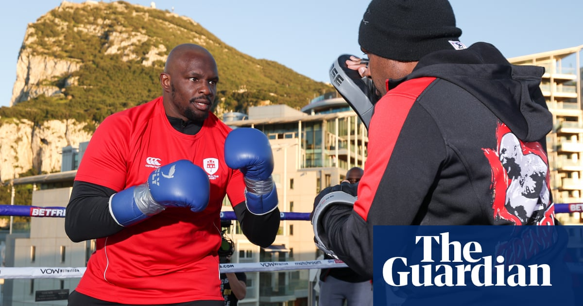 Dillian Whytes world title ambitions on the rock in Povetkin rematch