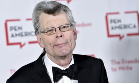 Stephen King attends the 2018 PEN Literary Gala at the American Museum of Natural History in New York.