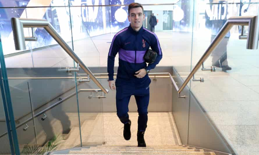 Giovani Lo Celso: 'In the beginning it wasn't so easy. I was coming to a new league, a new language, a new culture, and then I got injured. But now I couldn't feel better.'