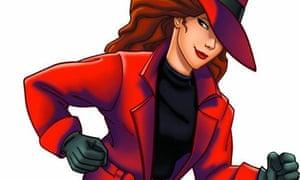 Carmen Sandiego cartoon