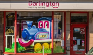Teesdale, North East England branch of the Darlington Building Society