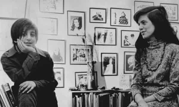 Susan Sontag and her son David Rieff in 1967.