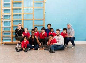 Year 3 at Northway special school in Barnet, north-west London.