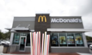 McDonald's and plastic straws