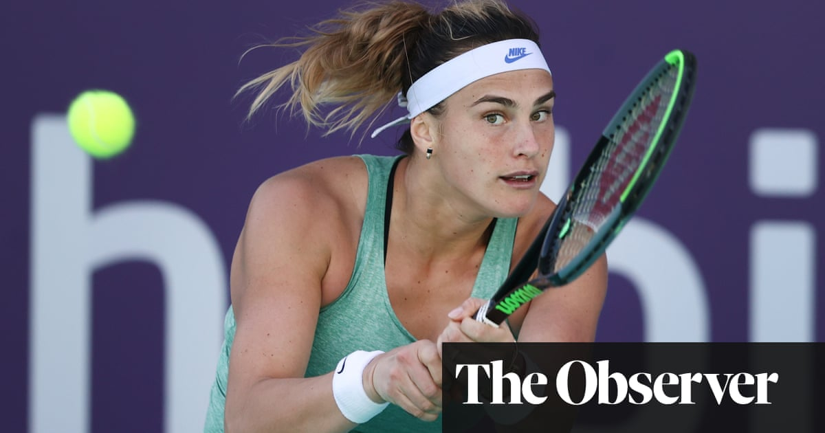 Aryna Sabalenka strives to underline her potential on the big stage