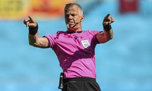 Björn Kuipers, who will referee Italy v England in the Euro 2020 final on Sunday.