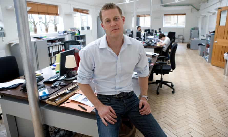 Espen Baardsen, pictured in 2008, where he worked as a macro analyst for Eclectica asset management.
