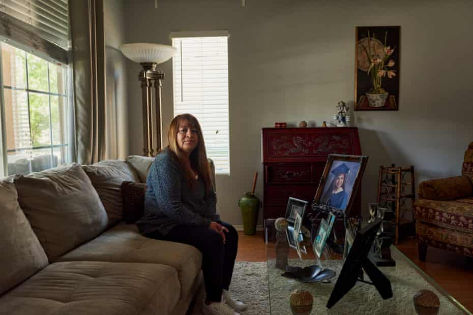 Beatrice Bayardo's daughter Corene De La Cruz is incarcerated at the California Institution for Women, which currently has one of the worst Covid-19 outbreaks in the state.