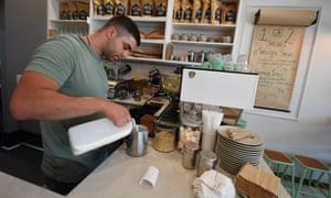 A barista