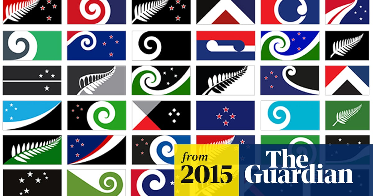 New Zealand's new flag: panel publishes 40 potential designs