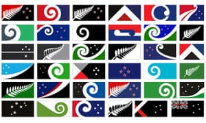 New Zealand's new flag: panel publishes 40 potential designs | World