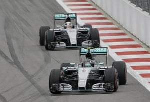 Rosberg retires and makes way for Hamilton.