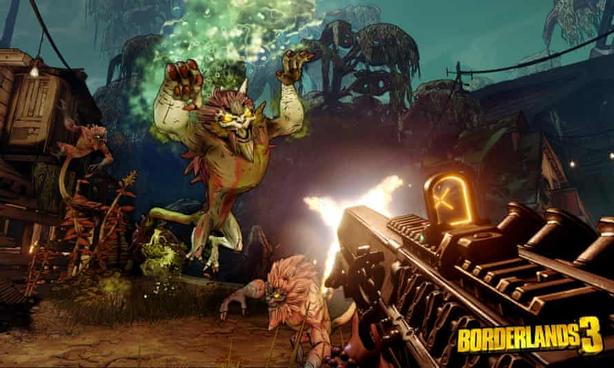 Trying to balance the serious and the silly … Borderlands 3.