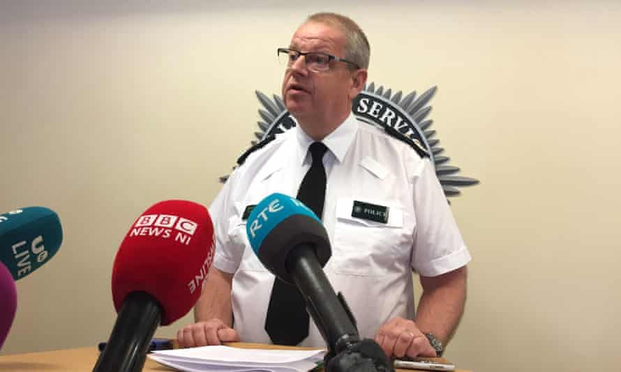 PSNI chief constable Simon Byrne was giving a press conference in Belfast when he voiced his concerns.