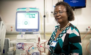 Rachel Mwansa, head of King's College's liver and renal department.
