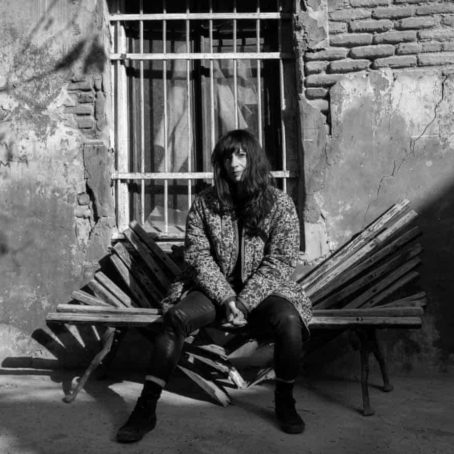 The author Melody Razak photographed in Tbilisi, Georgia for the Observer New Review by Anka Gujabidze, January 2021