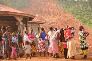 Survivors of mudslides in Freetown fear they will be evicted from informal shelters.